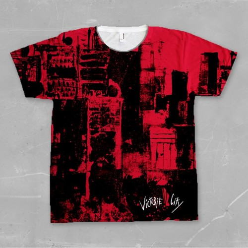 Red Victorie Skyline Shirt
