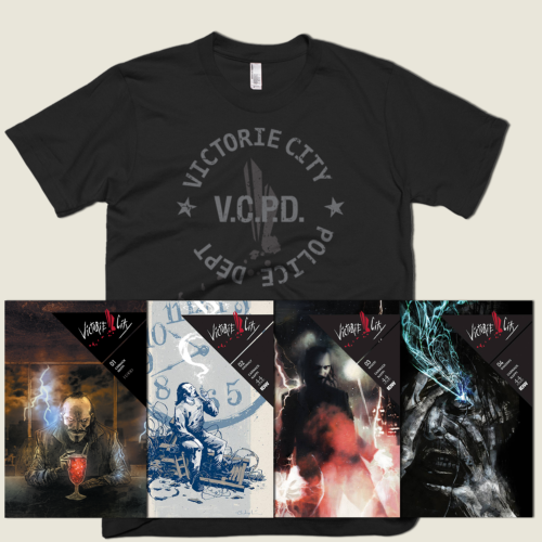 Victorie City series + T-shirt bundle