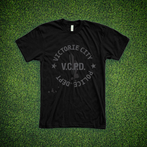 Victorie City Police Dept. T-shirt